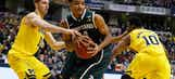 Michigan State upsets Michigan to win Big Ten title