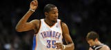 Thunder top Jazz, Durant's scoring streak continues