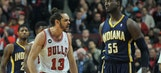 Pacers out-muscled by Bulls