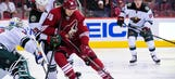 Coyotes can't stop Wild rally, lose 3-1