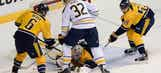 Predators dominate Sabres