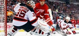 Red Wings rout Devils in high-scoring thriller