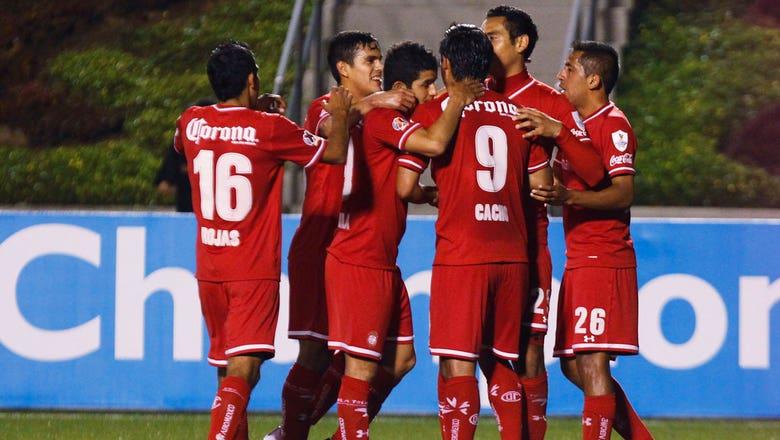 Toluca v San Jose Earthquakes Full Game Highlights 3/19/14