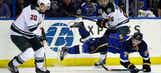 Wild no match for Oshie, Blues