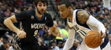 Rubio has triple-double as Wolves beat Mavs in OT