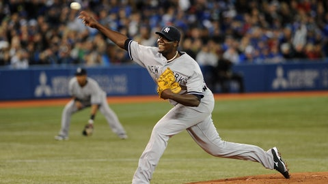 Apr 5, 2014; Toronto, Ontario, CA; New York Yankees starting pitcher Michael Pineda throws the ball against the Toronto Blue Jays at Rogers Centre. Mandatory Credit: Dan Hamilton-USA TODAY Sports