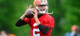 Johnny Football talk of Browns' OTA's