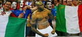 Italy downs England, Costa Rica shocks Uruguay