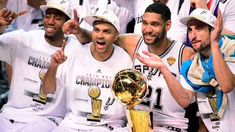 2014: Spurs beat Heat