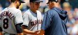 Indians shut down by Ventura, Royals