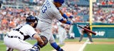 Royals leapfrog Tigers with 9th straight win