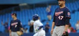 Twins handed late loss by Blue Jays