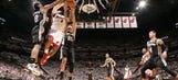 Leonard leads Spurs to win in Miami