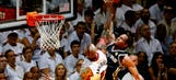 Spurs rout Heat again, lead series 3-1