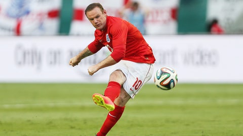 Football - England v Honduras - International Friendly - Sunlife Stadium, Miami, United States of America - 7/6/14England's Wayne Rooney takes a free kickMandatory Credit: Action Images / Lee SmithLivepicEDITORIAL USE ONLY.