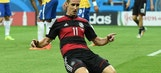 Klose nets record, Germany rout Brazil 7-1