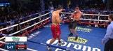 6-foot 11-inch boxer punches out opponent