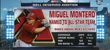 Miguel Montero named an All-Star
