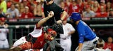 Bruce homers, Reds rout Cubs