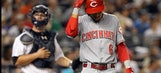 Reds lose a close one to Yankees