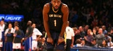 Pelicans stumble as Knicks end 16-game skid