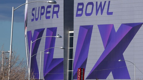 Jan 21, 2015; Glendale, AZ, USA; A general view of University of Phoenix Stadium in advance of Super Bowl XLIX between the Seattle Seahawks and the New England Patriots. Mandatory Credit: Kirby Lee-USA TODAY Sports