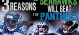 3 reasons why the Seahawks will pound the Panthers on Saturday