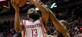 Harden scores 45 as Rockets rip Pacers