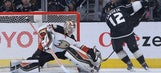 Kings come up short against Ducks, lose in SO