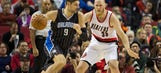 Magic can't overcome slow start against Blazers