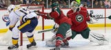 Wild's skid continues with loss to Predators