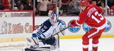 Red Wings fall short against Jets in SO