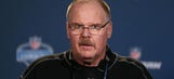 Andy Reid on his combine strategy