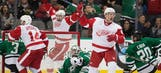 Highlights: Red Wings rally past Stars for OT win