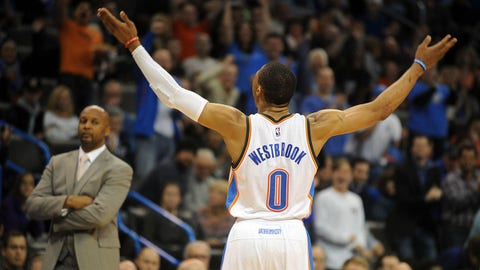 Russell Westbrook's pursuit of history is must-see TV