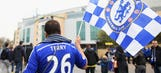 Chelsea fans involved in Paris racial incident