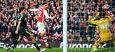 Giroud's excellent volley doubles Arsenal lead against Middlesbrough