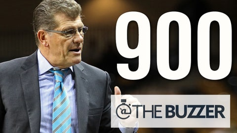 ORLANDO, FL - JANUARY 21: Head coach Geno Auriemma of the Connecticut Huskies looks on on the sidelines during an NCAA women's basketball game against the UCF Knights at the CFE Arena on January 21, 2015 in Orlando, Florida. Connecticut won the game 100-45. (Photo by Alex Menendez/Getty Images)