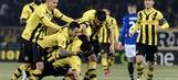 Hoarau curls home , 1-0 Young Boys