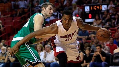 Boston Celtics: Tyler Zeller, PF