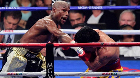 Total Punches by Floyd Mayweather