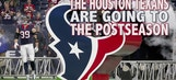 The Houston Texans are going to the postseason