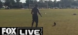 College Kicker Pull Off Impossible Trick Shot