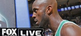 Kevin Garnett Puts His Head Through A Wall For Reality TV