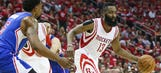 Rockets pull past Clippers, even series 1-1
