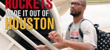 Rockets make it out of Houston