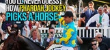 You'll never guess how Pharoah jockey picks a horse