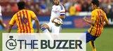 Eden Hazard destroyed Barcelona's defense in the ICC