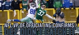 NFL VP of Officiating confirms once again: Dez didn't catch it