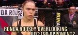 Ronda Rousey overlooking UFC 190 opponent